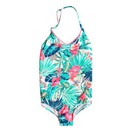 Roxy Girl's Jungle Poem One Piece Swimsuit
