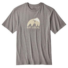 Patagonia Men's Eat Local Upstream Short Sleeve T Shirt