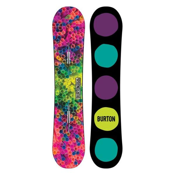 Burton Women's Social All Mountain Snowboard '14