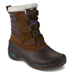 The North Face Women's Shellista II Shorty Apres Boot Dk Earth Brown