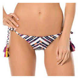 Becca Women's Artisan Tie Side Hipster Swim Bottoms