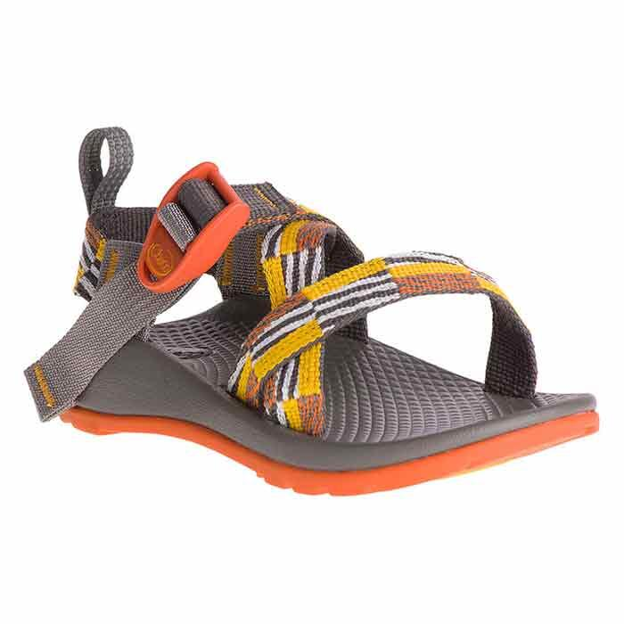 Chaco Kids Z/1 EcoTread Sandals Scatter Pop