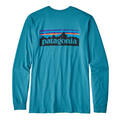 Patagonia Men's P-6 Logo Long Sleeve T Shirt