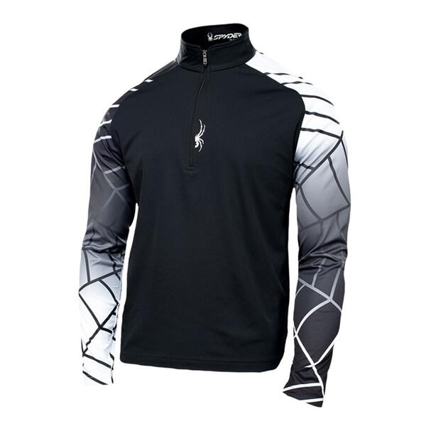 Spyder Men's Linear Web Dry Web T-neck
