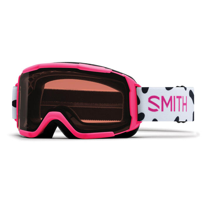 Smith Youth Daredevil Snow Goggles With RC36 Lens Pink Jam