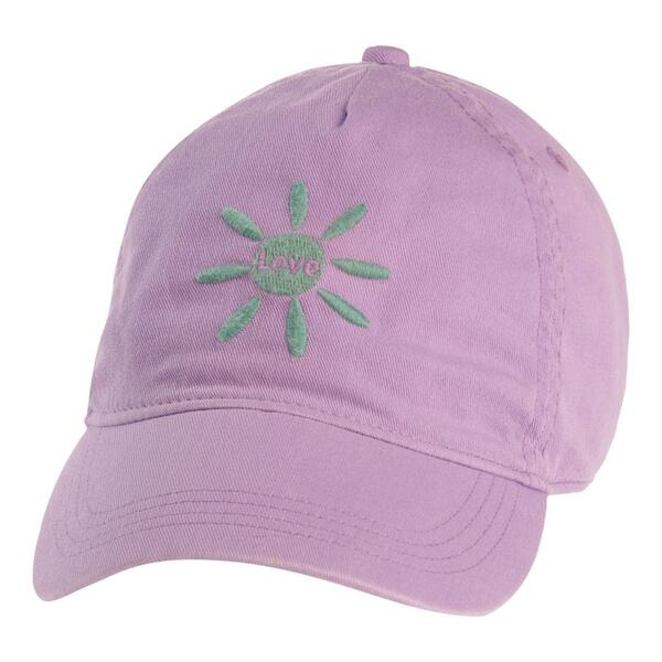 Life Is Good Women's Love High 5 Twill Chill Cap