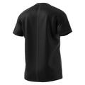 Adidas Men's Response Short Sleeve Running Shirt Back Black