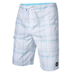 O'neill Men's Santa Cruz Plaid Boardshorts