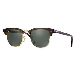 Ray-Ban Clubmaster Sunglasses With Green Classic G-15 Lenses
