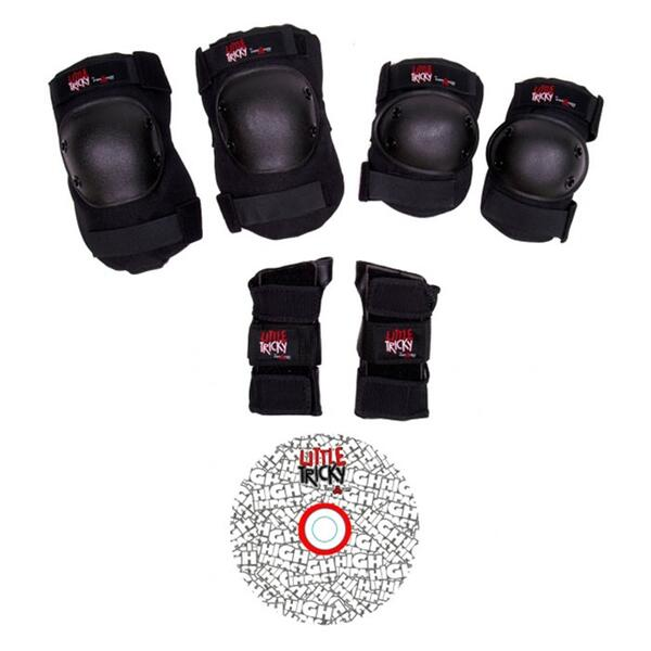 Triple Eight Little Tricky Protective Gear With Dvd