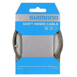 Shimano Stainless 2100mm Inner Shift Cable w/Inner End Cap