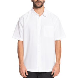 Quiksilver Men's Waterman Centinela Short Sleeve Shirt