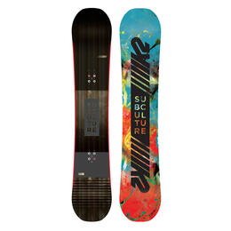 K2 Men's Subculture All Mountain Snowboard '18