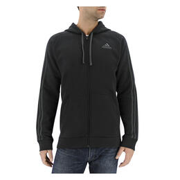 Adidas Men's Essential Cotton Fleece Full Zip Hoodie