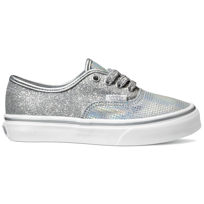 Vans Girl's Authentic Metallic Glitter Casu