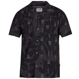Hurley Men's Sig Zane Maloulu Short Sleeve Shirt