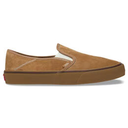 Vans Men's Suede And Sherpa Slip On Casual Shoes
