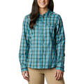 Columbia Women's Silver Ridge Lite Plaid Long Sleeve Shirt alt image view 10