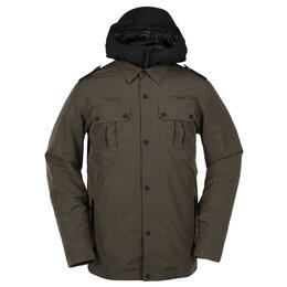 Volcom Men's Creedle2stone Jacket Forest
