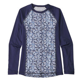 Patagonia Girl's Long Sleeve Silkweight Rashguard