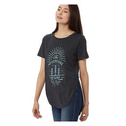 tentree Women's Adventure Begins T Shirt