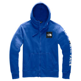 The North Face Men's Red Box Patch Full Zip Hoodie