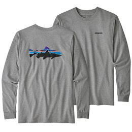 Patagonia Men's Long-Sleeved Fitz Roy Trout Responsibili-Tee Shirt