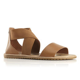 Sorel Women's Ella Sandals Camel Brown