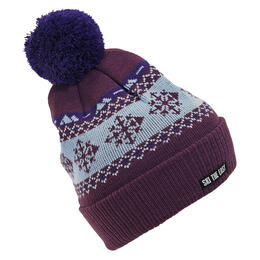 Ski The East Women's Gondola Pom Pom Beanie