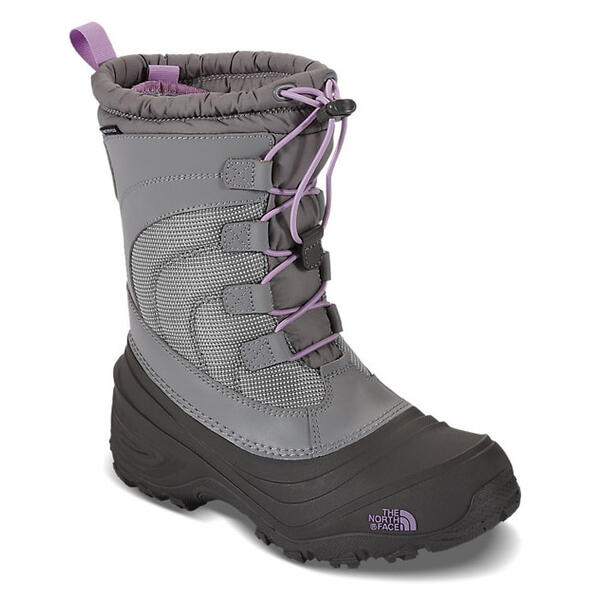The North Face Toddler Girl's Alpenglow IV Apres Boots Grey