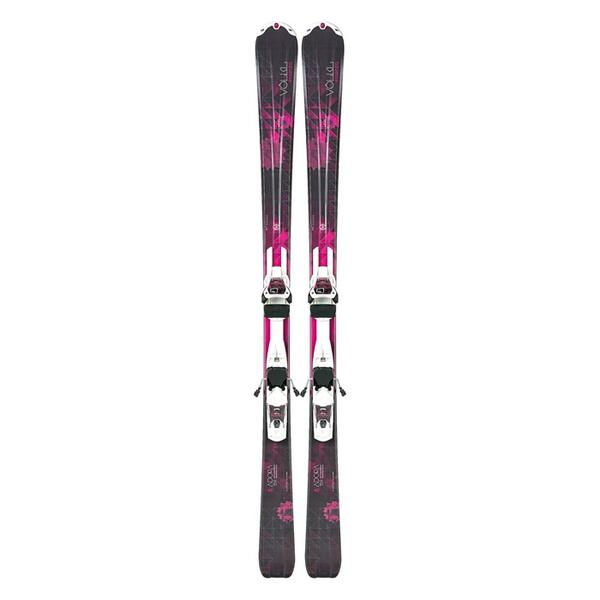 Volkl Women's Adora All Mountain Skis with 3Motion 10 Bindings '14