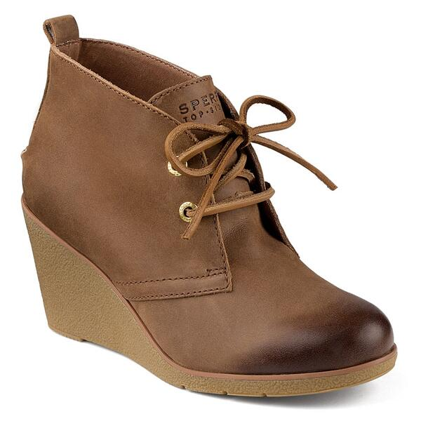 Sperry Women's Harlow Burnished Wedge Bootie