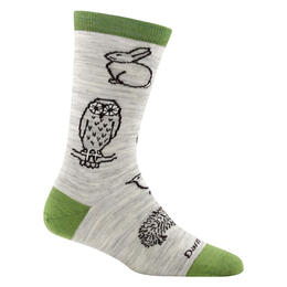 Darn Tough Vermont Women's Woodland Creatures Crew Socks