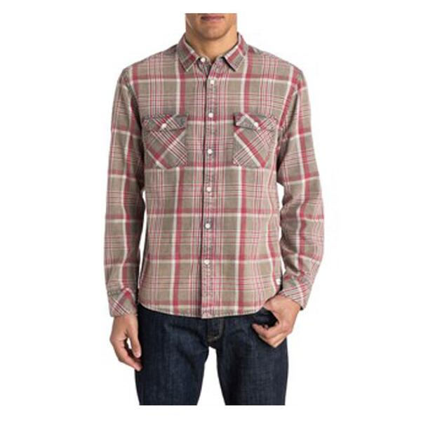 Quiksilver Men's Tang Titan Flannel Long Sleeve Shirt