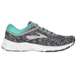 Brooks Women's Launch 5 Grey/Aqua Running Shoes