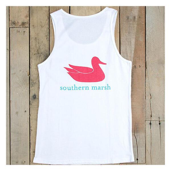 Southern Marsh Women 39 S Authentic Tank Top Sun Ski