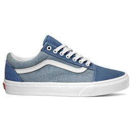Vans Men's Old Skool Casual Shoes Canvas True Navy