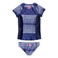 Roxy Junior Girl's Pop Neon Rashguard Set