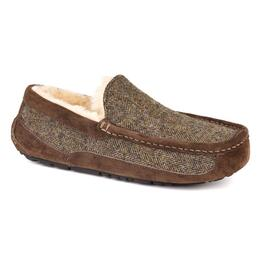 UGG® Men's Ascot Tweed Wool Apres Ski Slippers
