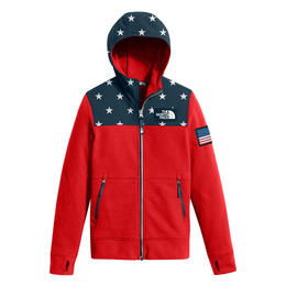 The North Face Girl's Ic Front Zip Hoodie