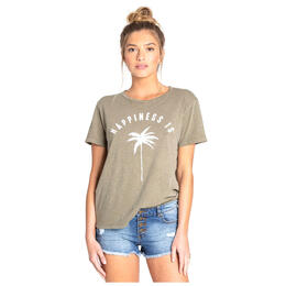 Billabong Women's Happiness Is Tee Shirt