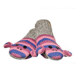 Knitwits Stripe Sockey Monkey Mittens