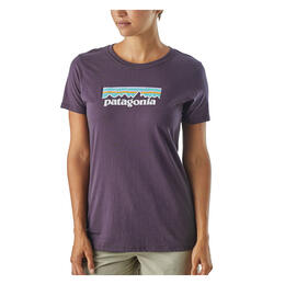 Patagonia Women's Pastel P6 Logo Cotton Crew Short Sleeve T Shirt