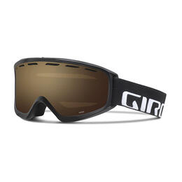 Giro Index OTG Snow Goggles Black With Amber Rose Lens