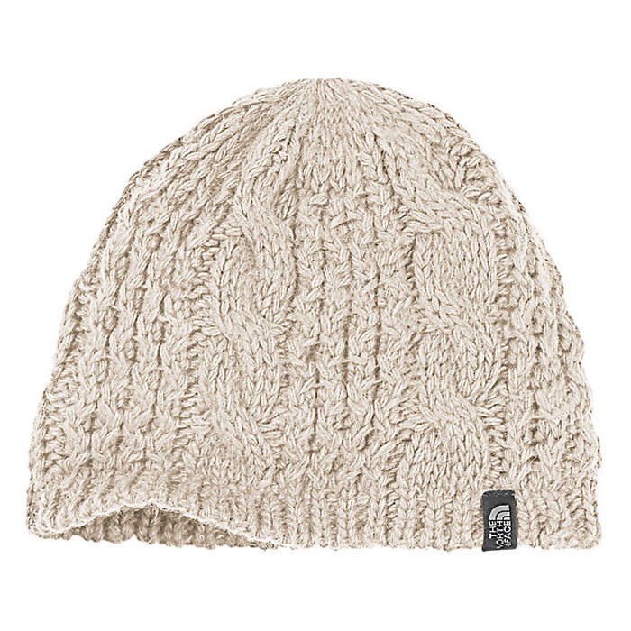 The North Face Women's Cable Minna Beanie Rabbit Grey