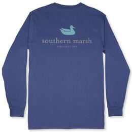 Southern Marsh Men's Authentic Long Sleeve Tee Shirt