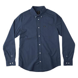 Rvca Men's That'll Do Oxford Long Sleeve Shirt