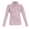 Under Armour Women's UA Tech™ Twist Half Zip Top alt image view 6