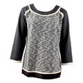 THML Women's Grosgrain Ribbon Knit Sweater