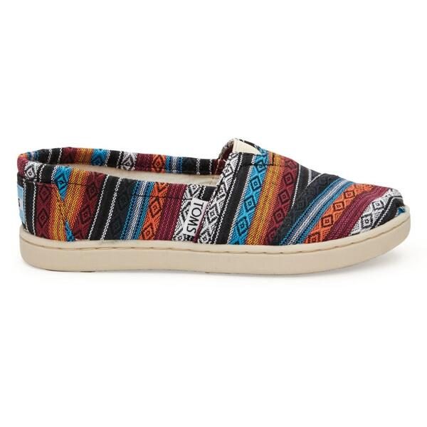 Toms Children's Woven Classic Youth Casual Shoes